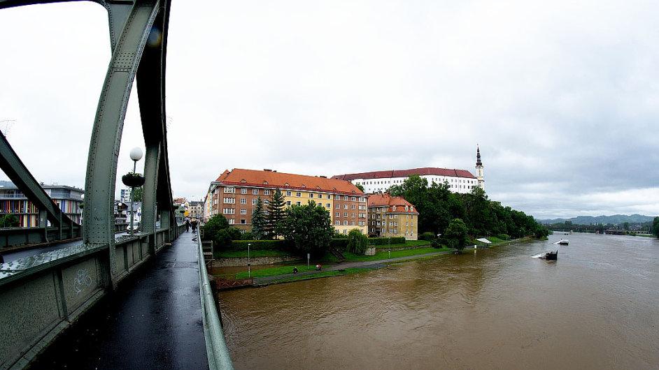 Labe ohrožuje i Děčín