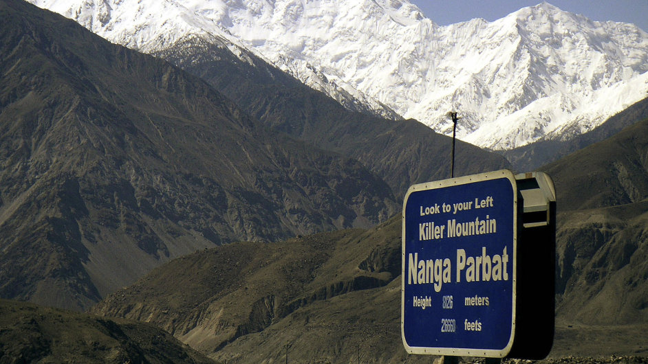Pákistán: Nanga Parbat