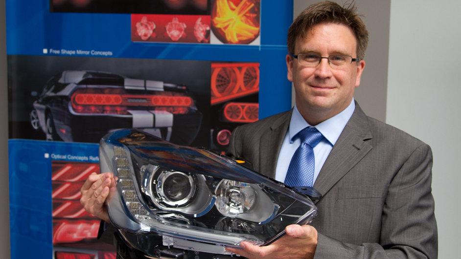 Todd C. Morgan, viceprezident pro produktový vývoj firmy Varroc Lighting Systems