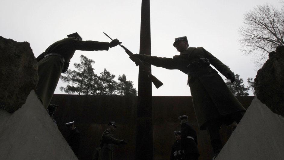 Katyňský masakr.