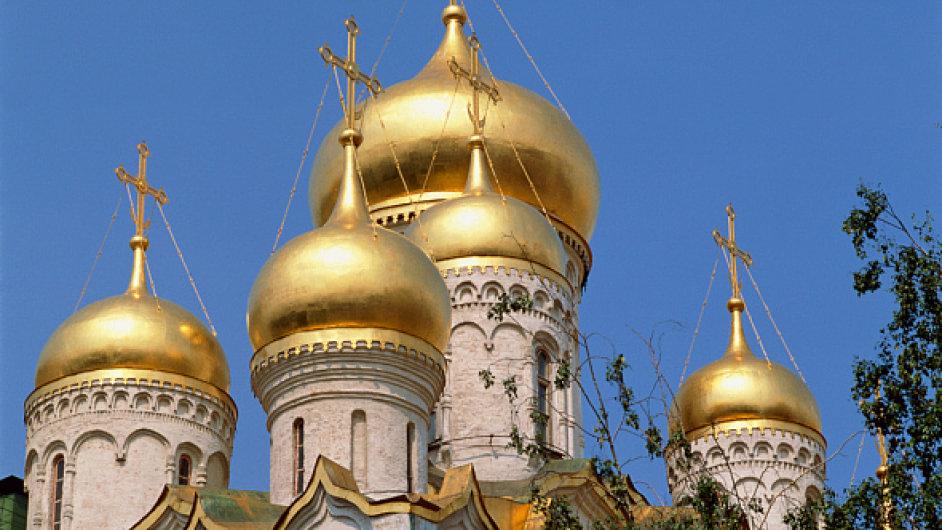 Ruské pravoslavné kostely se dají nalézt i v Česku. Ilustrační foto