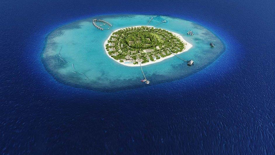 Ostrov Velaa patří českému byznysmenu Jiřímu Šmejcovi, který na něm vybudoval luxusní resort.