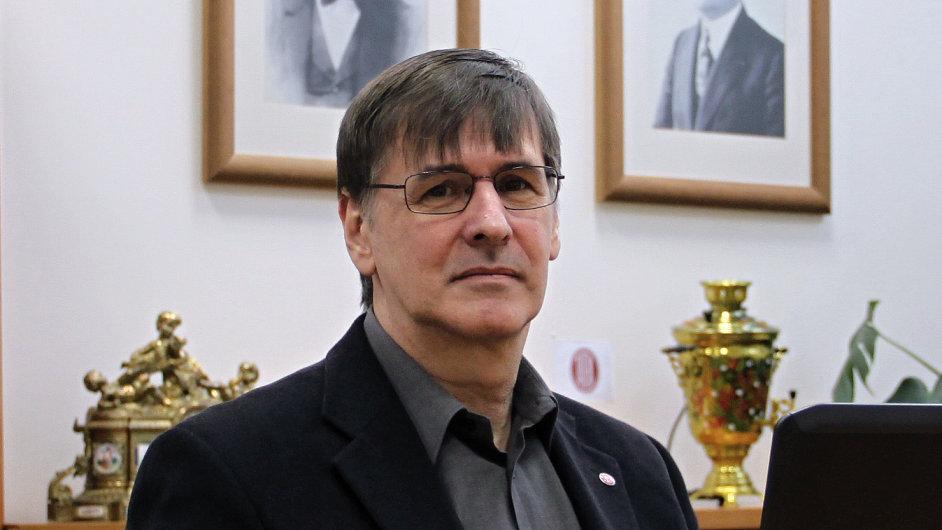 Jan Jurkovič, ředitel útvaru pro správu a administrativu ve společnosti Tatra Trucks