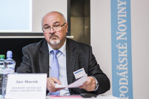 Náměstek ministryně práce a sociálních věcí Jan Marek na konferenci Ostrava, město pro byznys.