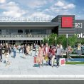 P�edpokl�dan� podoba nov�ho centra The Prague Outlet