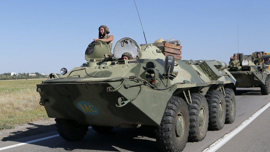Ukrajina dodává díly pro ruskou vojenskou techniku.