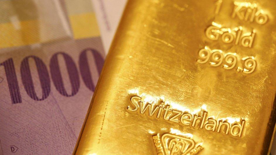 Švýcarský frank jako stabilní měna láká mnohé investory.