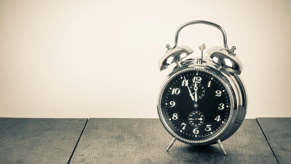 Čas a jeho efektivní využívání.
