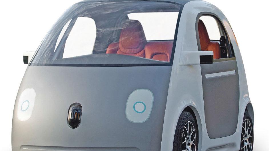 Autonomní auto od Googlu je zatím příliš drahé.