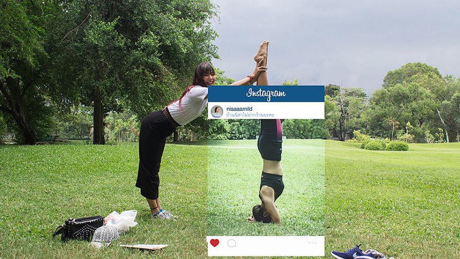 Instagramová realita
