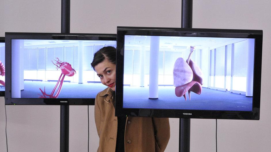 Snímky z výstavy finalistů Chalupeckého ceny