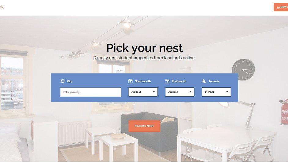 Nestpick Home Page