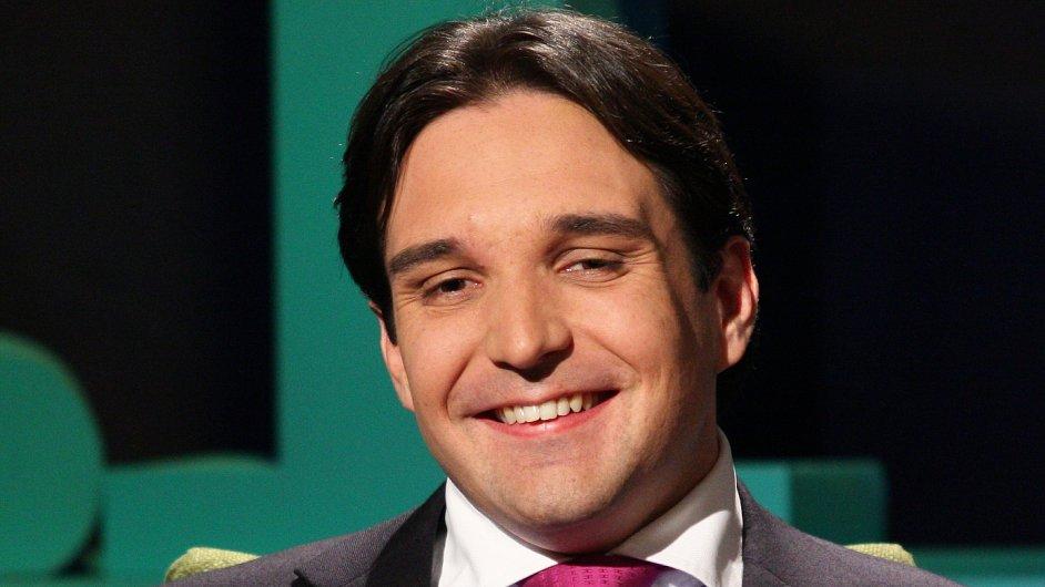 Adam Plachetka na snímku z televizního pořadu Karla Šípa Všechnopárty.