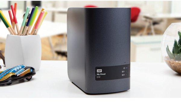 Síťový disk WD My Cloud EX2
