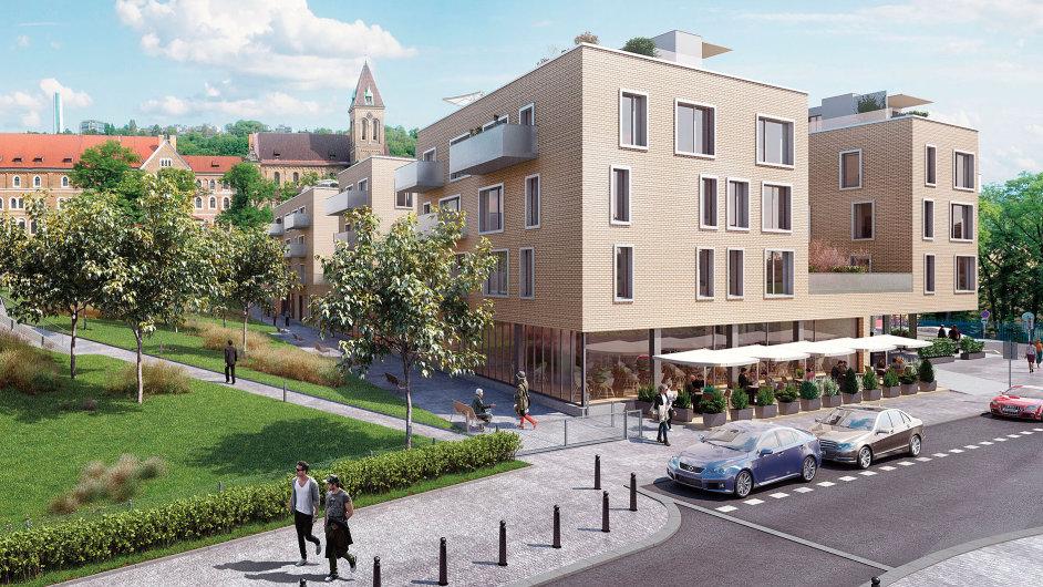 Vitality Rezidence společnosti Satpo pod Petřínem je zatím ve fázi výběru dodavatele stavby.