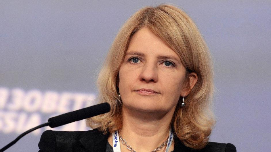 Natalia Kasperská, generální ředitelka společnost InfoWatch.