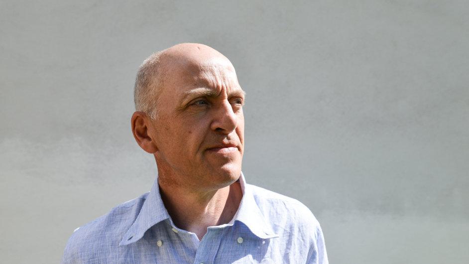 Spisovatel a novinář Jonathan Ledgard v Kvasejovicích.