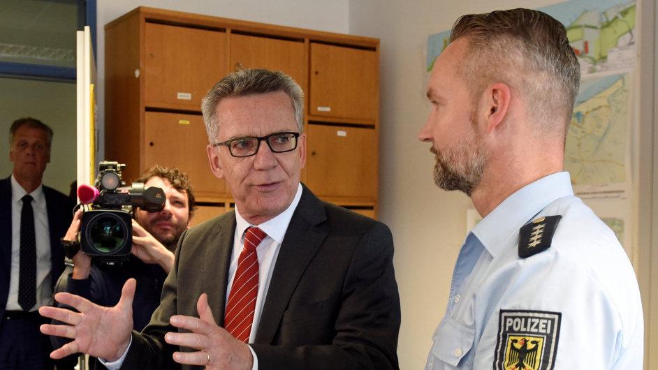 Německý ministr vnitra Thomas de Maiziére představil nový plán.