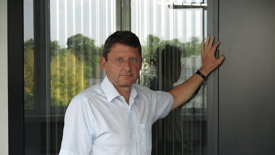 Ivan Hrdina, technický ředitel Metrostavu.