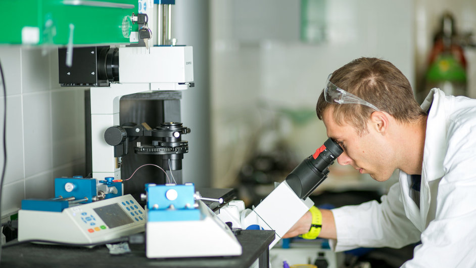 Brněnští vědci jsou krok od vyvinutí jedinečné látky, která pomůže při hojení těžkých ran. Enantis.