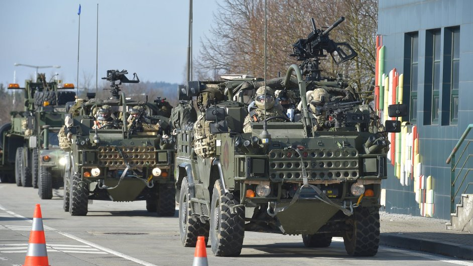 Konvoj NATO, Rozvadov