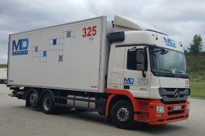 MD logistika bude bojovat o cenu za logistický projekt Evropy