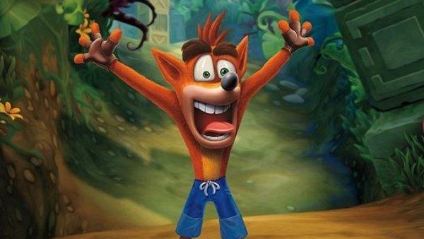 Crash Bandicoot N. Sane Trilogy: Herní sérii dal název Crash, zmutovaný všežravý bandikut (druh vačnatce)