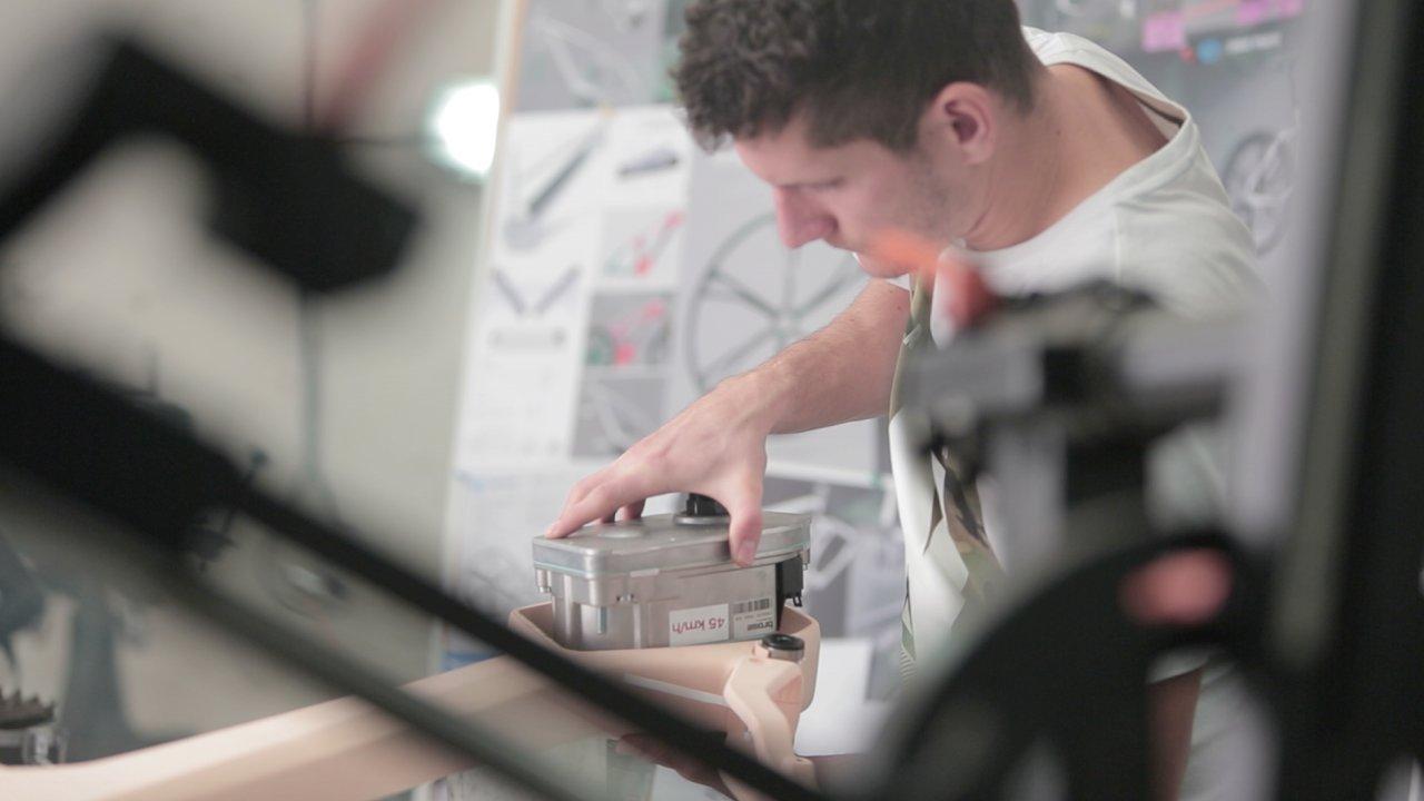 Kompletace prvního 3D tištěného e-kola Kinazo e1