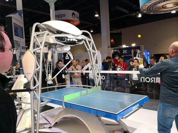 Omron ping pong