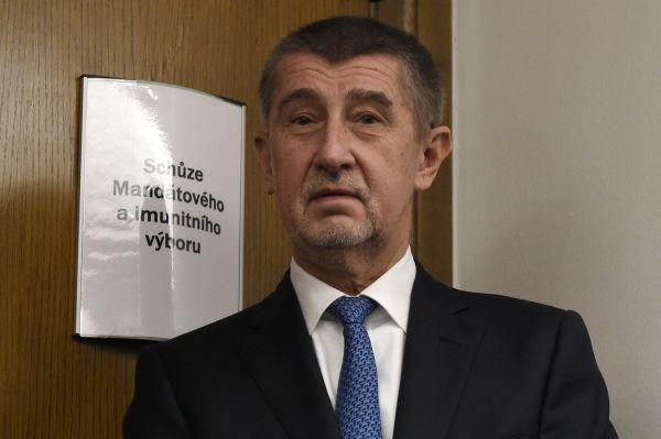 Mandátový a imunitní výbor, Andrej babiš