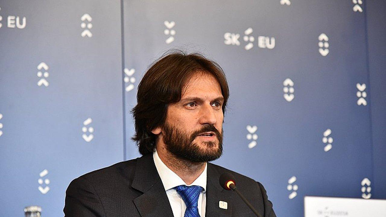 Slovenský ministr vnitra Robert Kaliňák.