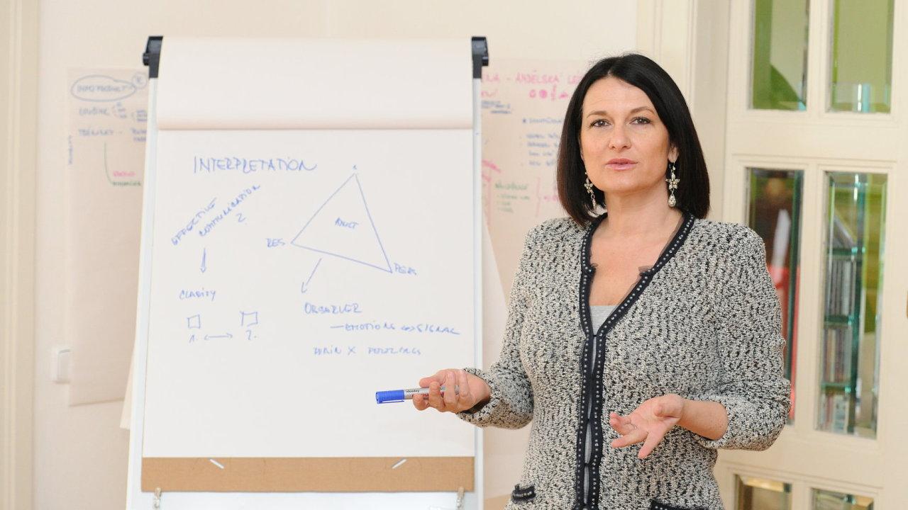 Mirka Čejková.