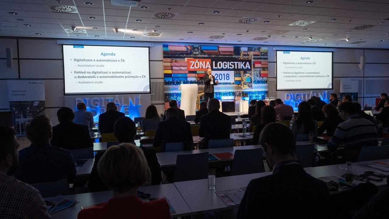 Konference Zóna logistika.