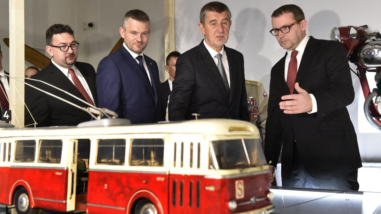V Bratislavě zahájili výstavu k výročí vzniku Československa