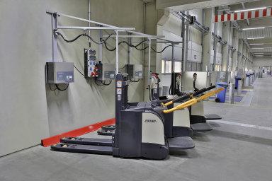 Dachser nasadí ve všech pobočkách li-ion vozíky.