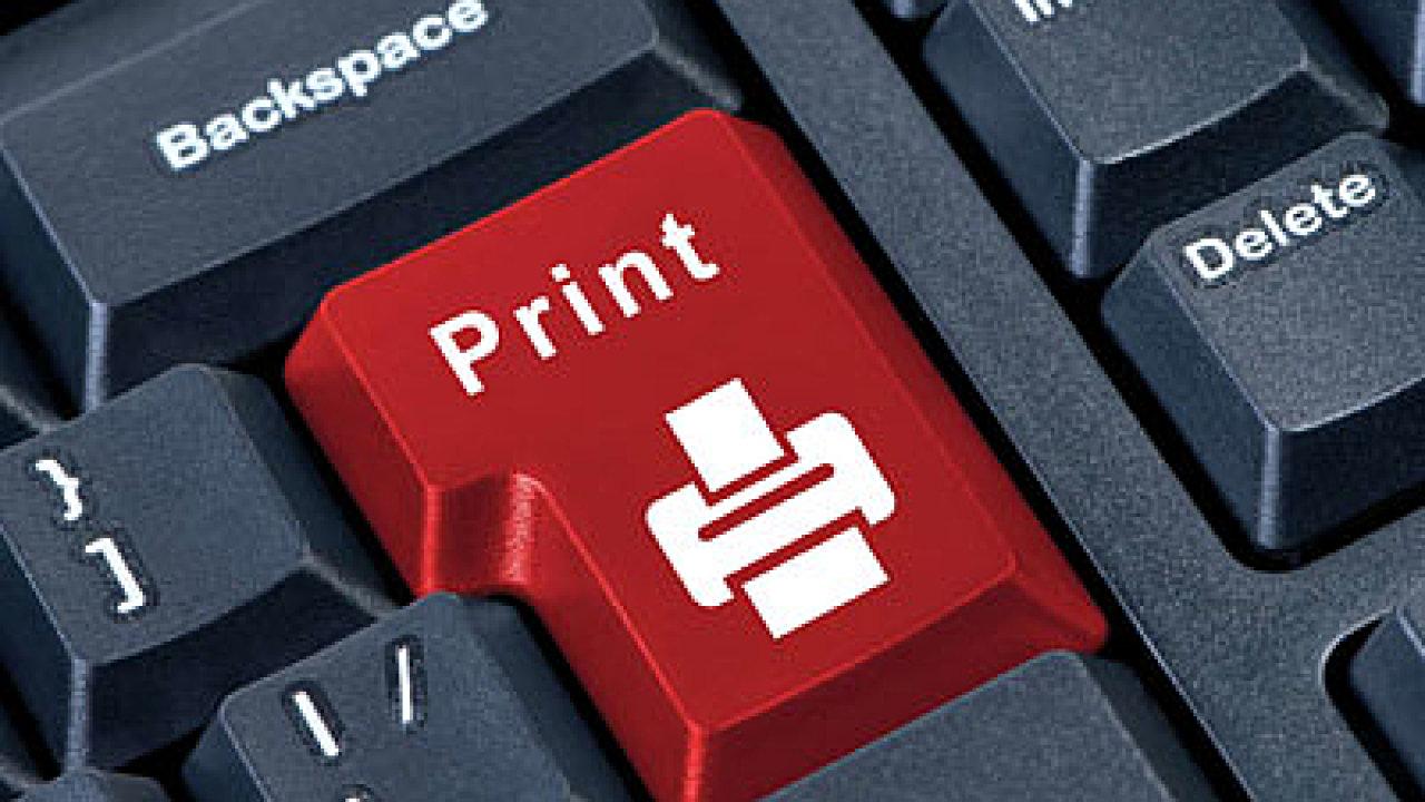 Tisková řešení, náklady na tisk, ilustrace
