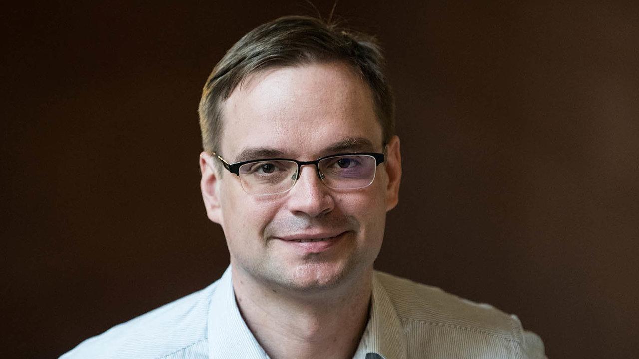 Ekonom zakademického think-tanku IDEA přiCERGE-EI Filip Pertold