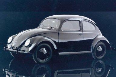 Volkswagen Brouk se inspiroval legendární Tatrou. První kusy dostávali nacističtí důstojníci