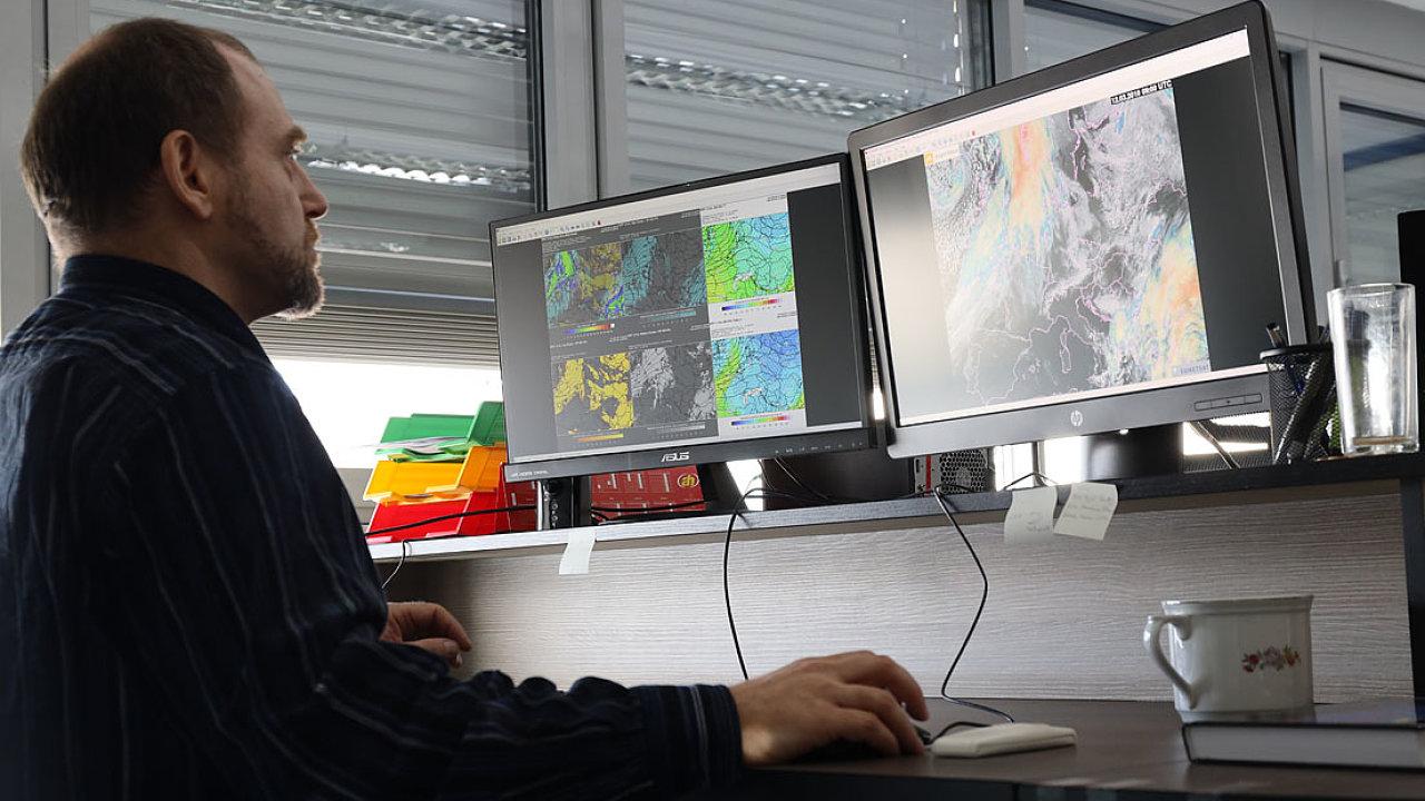 Milan Šálek meteorolog počasí