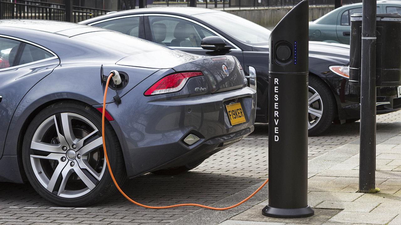 Elektromobil – ilustrační foto