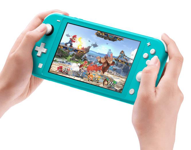 Nová verze konzole Nintendo Switch, Lite, dostala příjemnější cenu 5990korun adelší výdrž baterie.