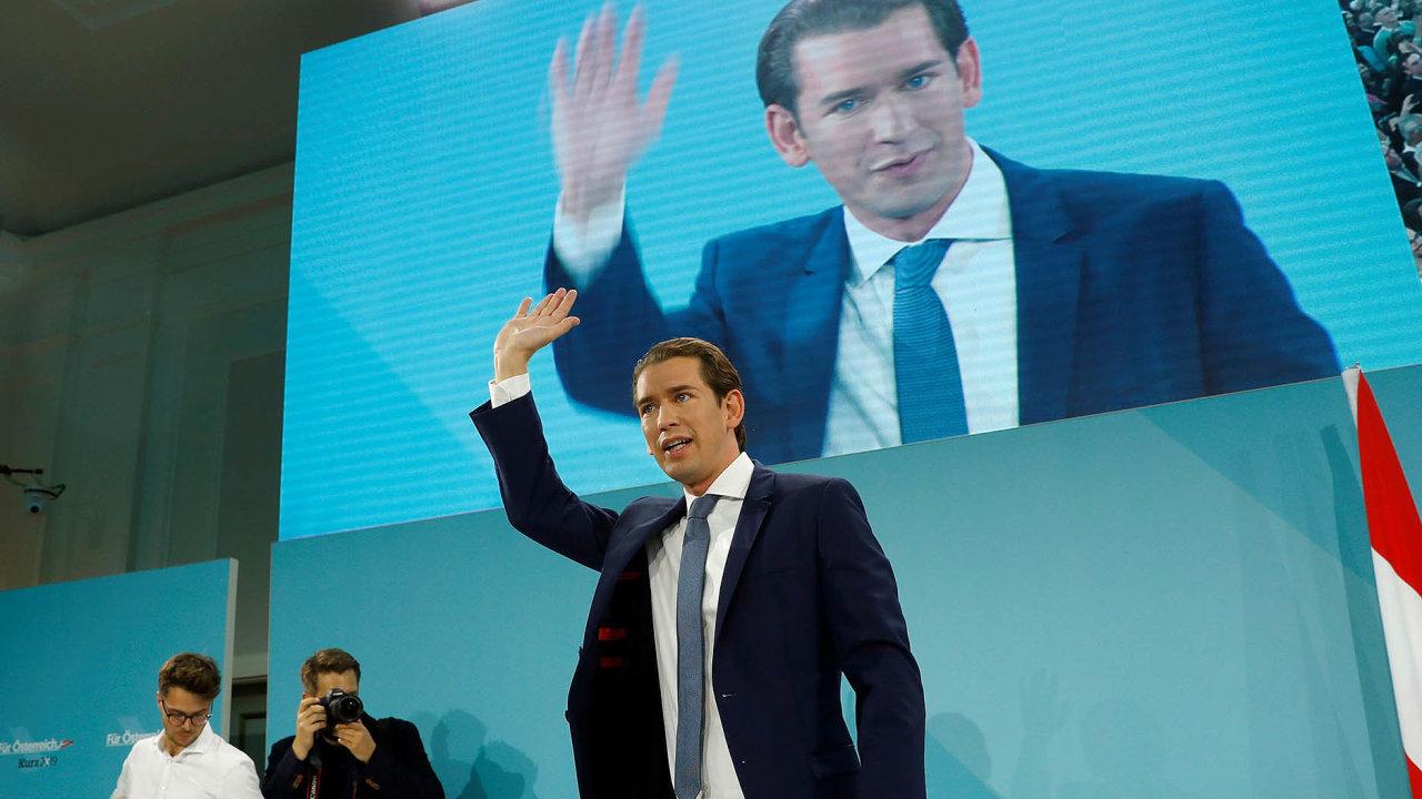 """""""Zázračné dítě"""". Lídr rakouských lidovců Sebastian Kurz bude opět sestavovat vládu."""