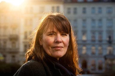 Francouzská spisovatelka Anne Delaflotte Mehdevi