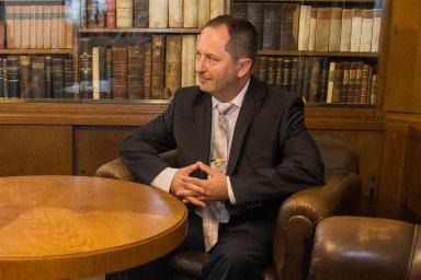 Petr Kukal při nástupu do funkce