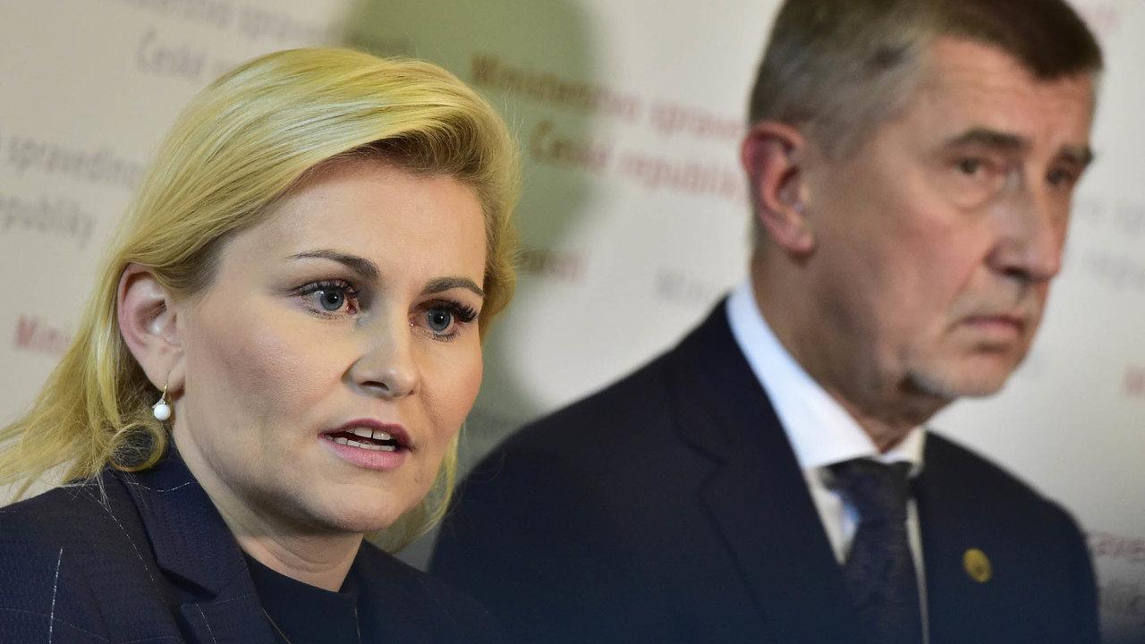 Otom, jestli si poslankyně Taťána Malá udrží post jihomoravské předsedkyně ANO, bude zatýden rozhodovat sněm. Byl to právě premiér Andrej Babiš, kdo tento postup vhnutí prosadil.