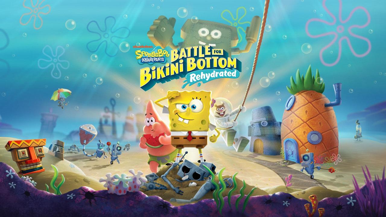 Spongebob to umí s obracečkou, nyní má zachránit celý svět.