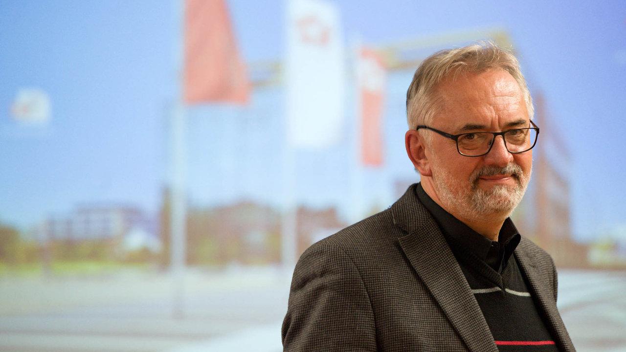 Ředitel Biologického centra Libor Grubhoffer.
