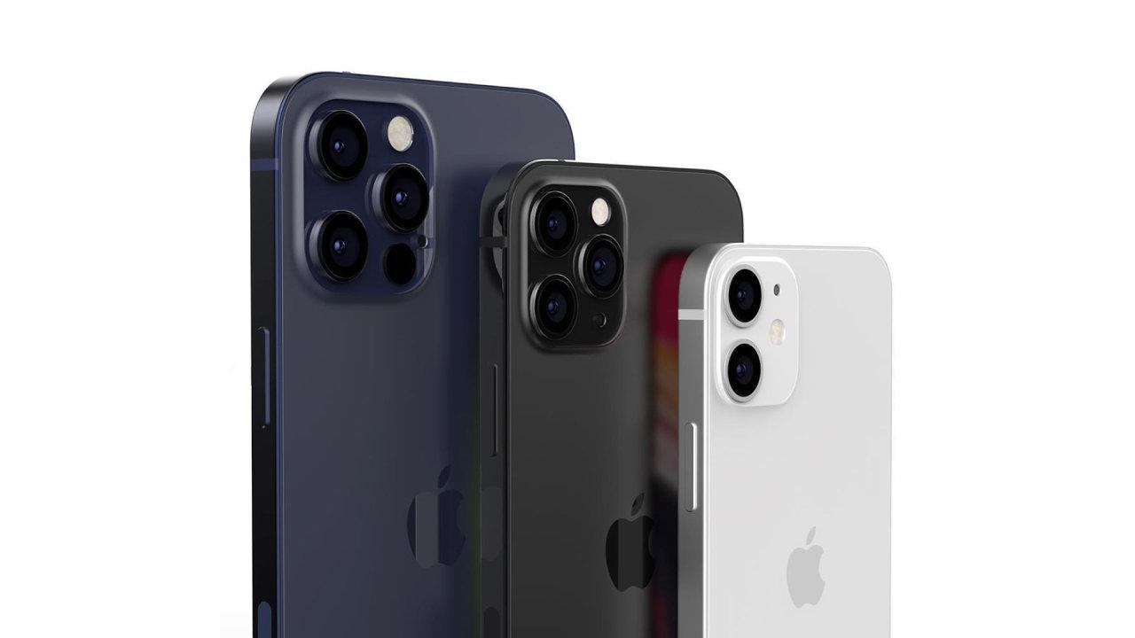 Vzhled nových iPhonů podle Tconcept Designs.