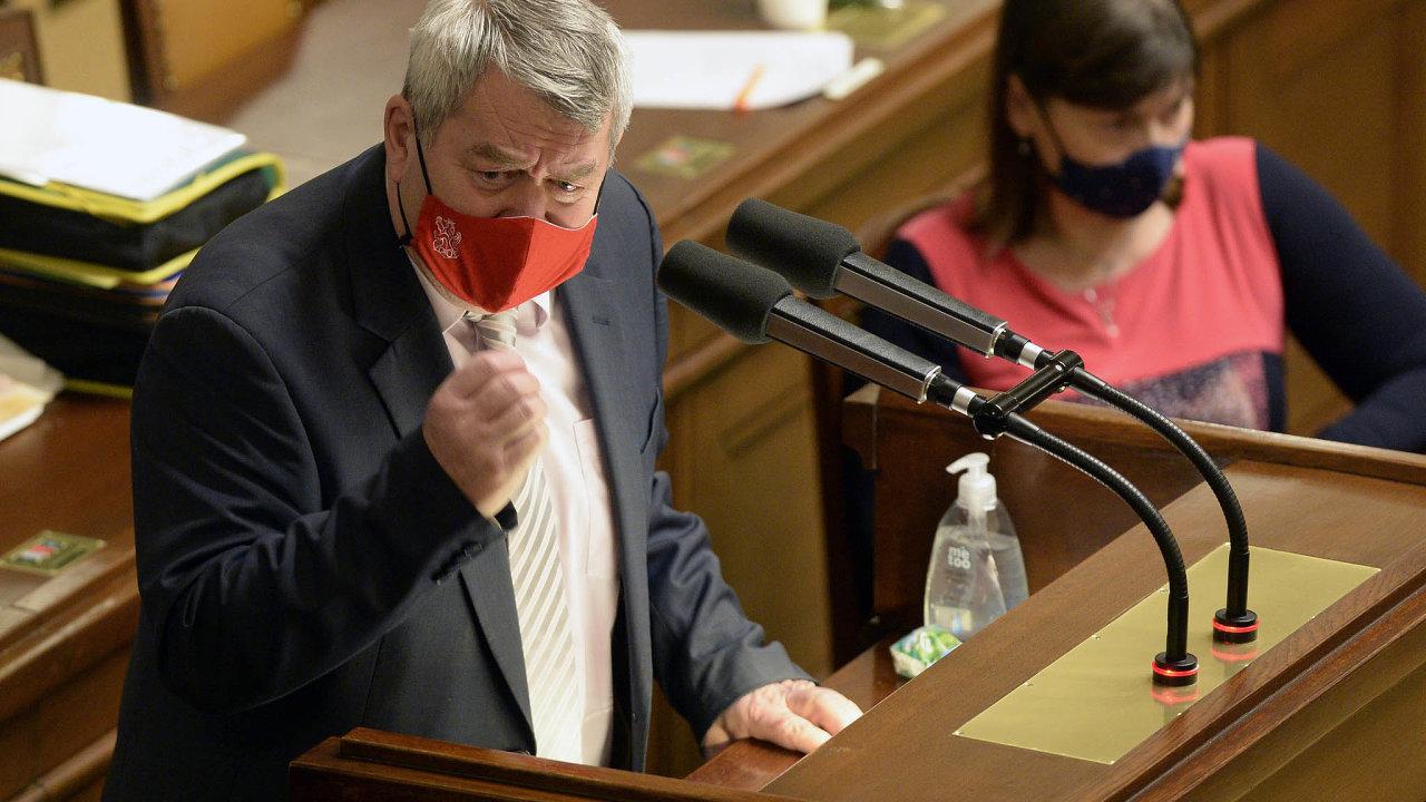 Hlasujte podle nás: Komunisté včele sVojtěchem Filipem ukázali při schvalování státního rozpočtu svůj vliv naúspěch menšinové vlády Andreje Babiše.