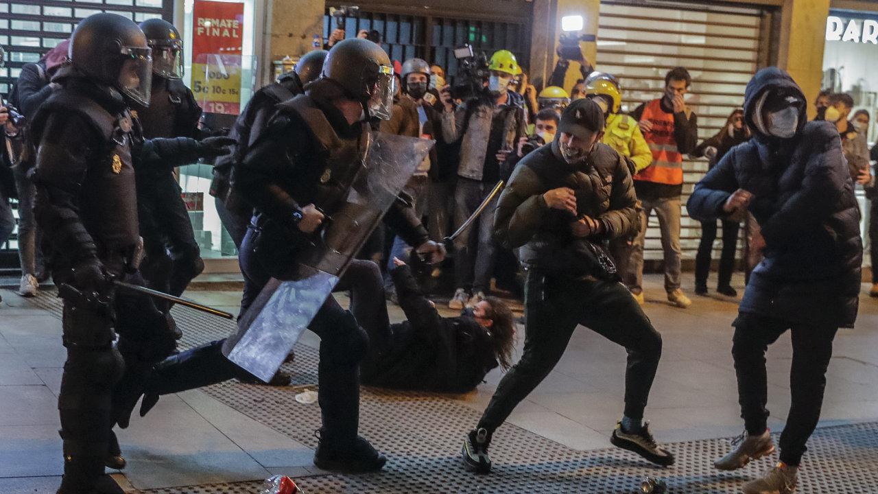 španělsko, protesty